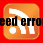 RSS feedエラー吐いてませんか? 記事を更新した時に必ずチェックしてること